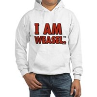 I Am Weasel Logo Hooded Sweatshirt