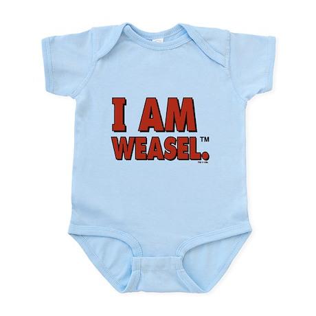 I Am Weasel Logo Infant Bodysuit
