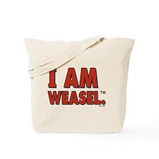 I Am Weasel Logo Tote Bag