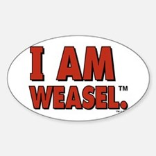 I Am Weasel Logo Decal