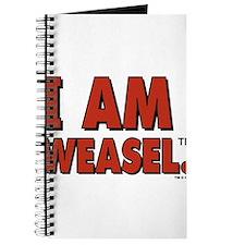 I Am Weasel Logo Journal