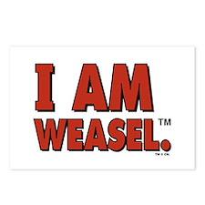 I Am Weasel Logo Postcards (Package of 8)