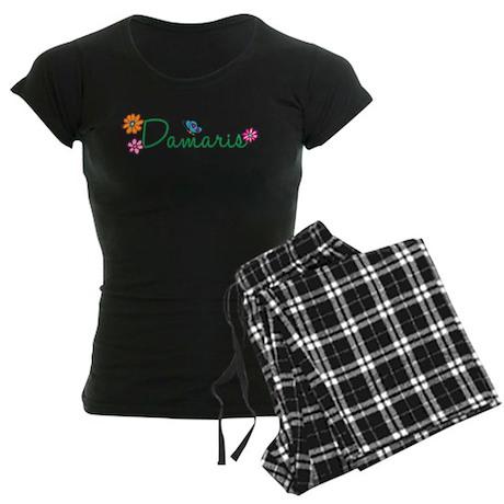 Damaris Flowers Women's Dark Pajamas