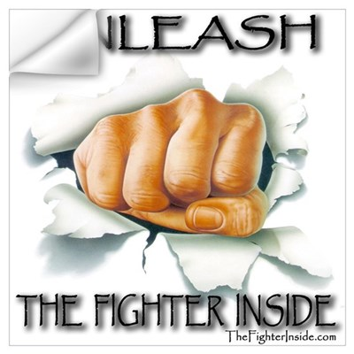 Unleash The Fighter Inside Wall Decal