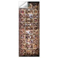 Sistine Chapel Ceiling Wall Decal