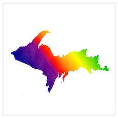 U.P. Rainbow Poster