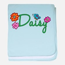 Daisy Flowers baby blanket