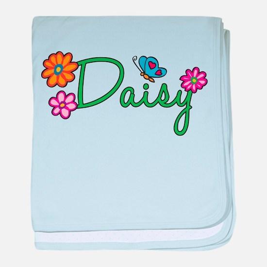 Daisy Flowers baby blanket