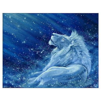 Star Lion Poster