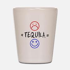 Plus Tequila Shot Glass