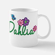 Dahlia Flowers Mug