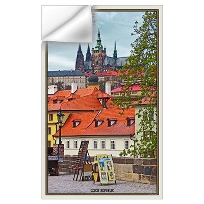 Prague Castle Wall Decal