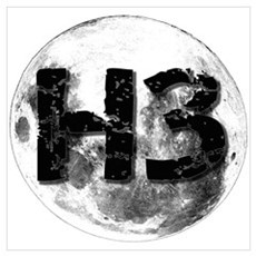 H3 On The Moon Poster