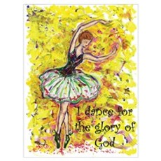 Dance for the Glory of God Canvas Art