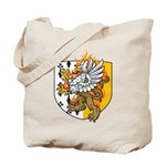 Flaming Gryphon Tote Bag
