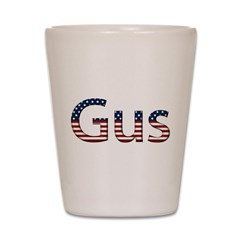 Gus Stars and Stripes Shot Glass