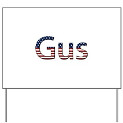Gus Stars and Stripes Yard Sign