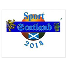 Sport Scotland. Poster
