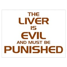 The Liver Is Evil! Poster