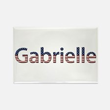 Gabrielle Stars and Stripes Rectangle Magnet