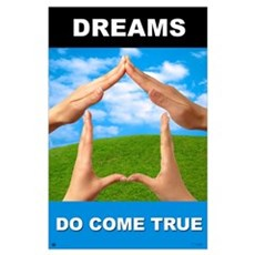 "Dreams Do Come True<br>Lobby <br>23"" x 35"" Poster"