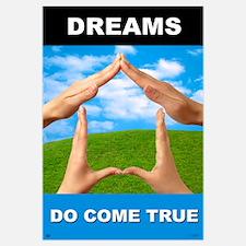 """Dreams Do Come True<br>Lobby <br>23"""" x 35"""""""