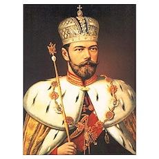 Tsar Nicholas Romanov II Poster