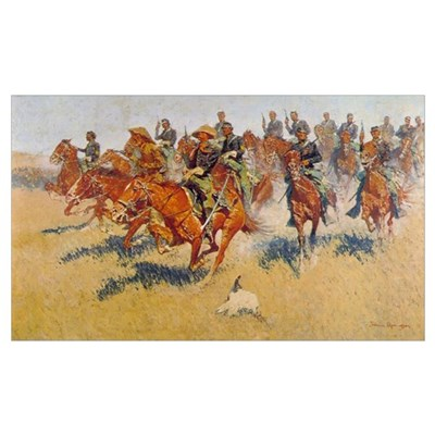 The Cavalry Charge Poster