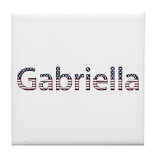 Gabriella Stars and Stripes Tile Coaster