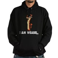 I Really Am Weasel! Hoodie (dark)