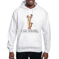 I Really Am Weasel! Hooded Sweatshirt