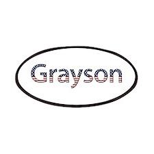 Grayson Stars and Stripes Patch
