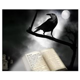 Edgar allen poe Wrapped Canvas Art