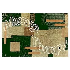 Massage Quilt Poster