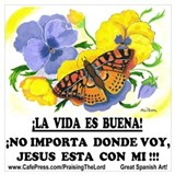 Christian spanish Wrapped Canvas Art