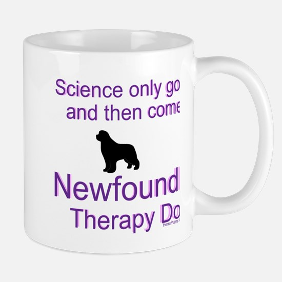 Newfoundland Therapy Dog Mug