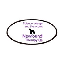Newfoundland Therapy Dog Patches