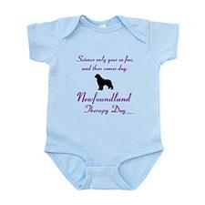 Newfoundland Therapy Dog Infant Bodysuit