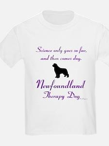Newfoundland Therapy Dog T-Shirt