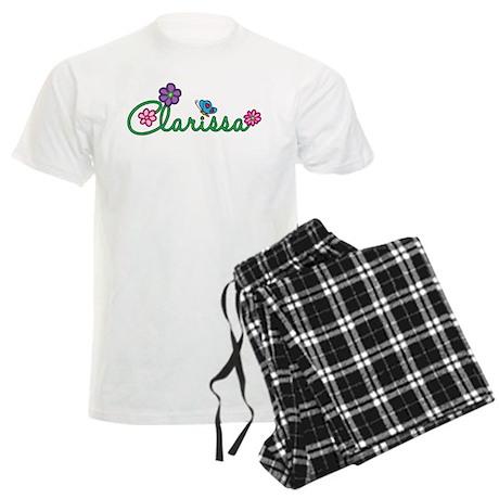 Clarissa Flowers Men's Light Pajamas