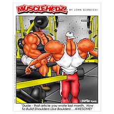 Shoulders Like Boulders Poster
