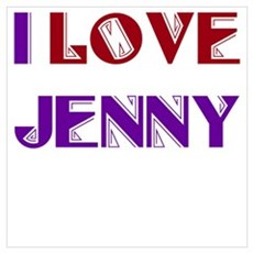 I Love Jenny Poster