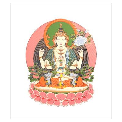 Chenrezig/Avalokiteshvara Poster