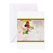 Unique Hindu goddess Greeting Cards (Pk of 20)