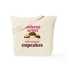Funny Makeup Artist Tote Bag