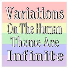 Variations On Humanness Poster
