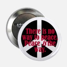 There is no way to peace. Pe Button