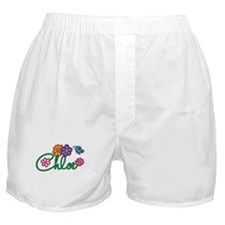 Chloe Flowers Boxer Shorts