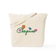 Cheyenne Flowers Tote Bag
