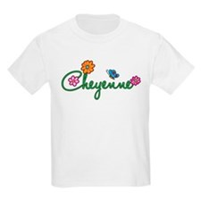 Cheyenne Flowers T-Shirt